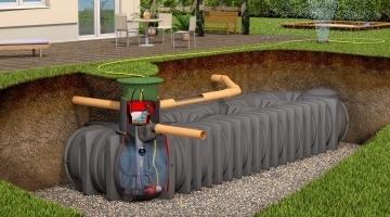 Bizidil GRAF-Cuves à enterrer Platine XL/XXL - Eau de pluie