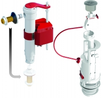 Bizidil Dubourgel-Soupape DUAL6 et robinet SX