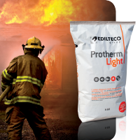 Bizidil EDILTECO FRANCE-Enduit de protection contre le feu PROTHERM Light®