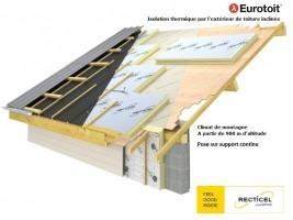 Bizidil RECTICEL-EUROTOIT - Le panneau en pose sarking tous climats