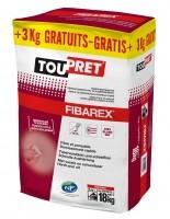Bizidil Toupret-FIBAREX Enduit de rebouchage fibré extérieur
