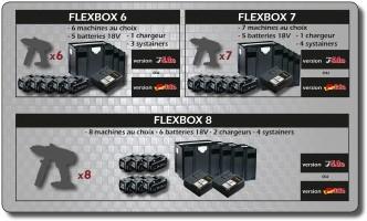 Bizidil ALSAFIX-FLEXBOX 6 et 7 ou 8 appareils