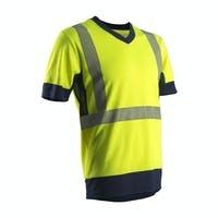 Bizidil COVERGUARD-KOMY T-shirt hi-viz jaune/marine