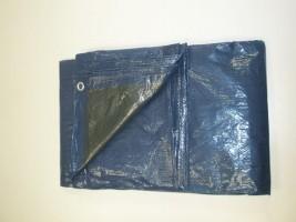 Bizidil KINGPRO-Lot de 10 Bâches PE lourde - Bleue/Verte - 2m x 3m