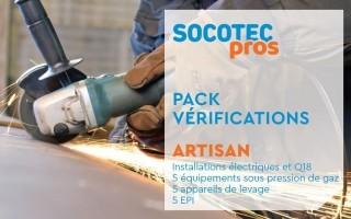 Bizidil SOCOTEC-PACK Artisan pour un chantier 100% Pro&sécurisé