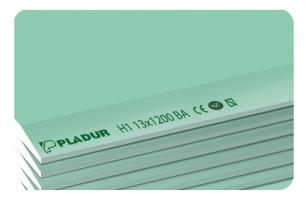 Bizidil Pladur-Plaque de plâtre NF H1 hydrofugée suivant EN 520