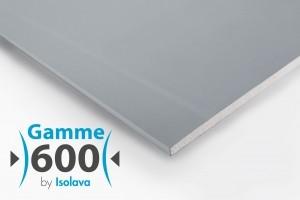 Bizidil ISOLAVA FRANCE-Plaque de plâtre Acoustique BA13 2500x600mm