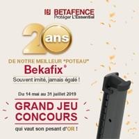 Bizidil BETAFENCE FRANCE-Poteaux Bekafix