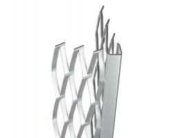 Bizidil PAI-Profil d'angle en acier déployé enduit plâtre 8 mm