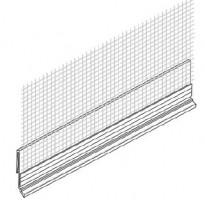Bizidil Baukom-PROFILE DE REPAIRE D EPAISSEUR PVC + TRAME
