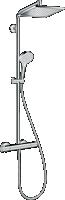 Bizidil HANSGROHE-Showerpipe Crometta E 240