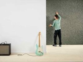Bizidil RECTICEL-SILENTWALL - L'isolant acoustique facile à poser.