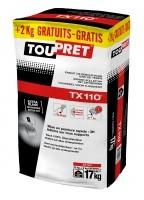 Bizidil Toupret-TX 110 Enduit de Rebouchage rapide intérieur