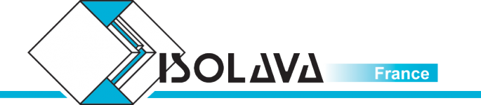 Logo ISOLAVA FRANCE