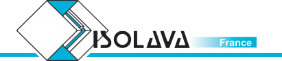 Logo marque ISOLAVA FRANCE