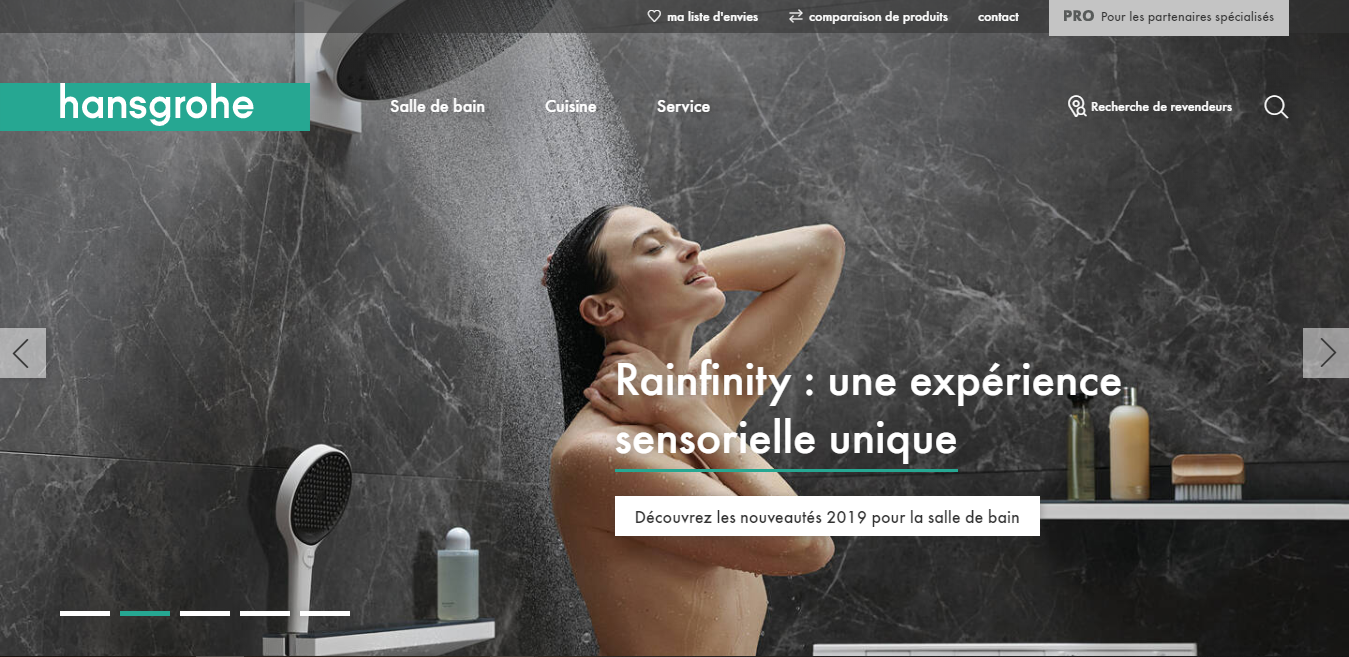 Site HANSGROHE